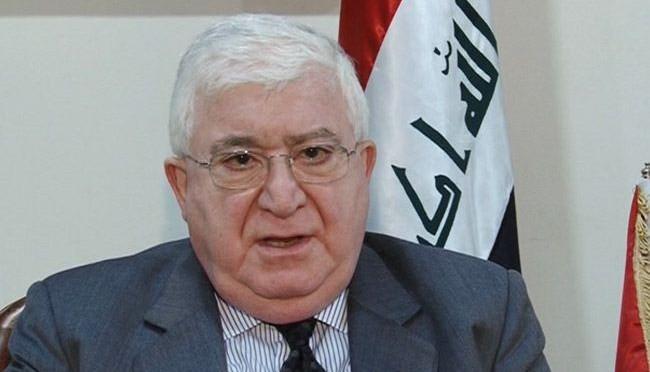 فؤاد معصوم رئيس الجمهورية العراق