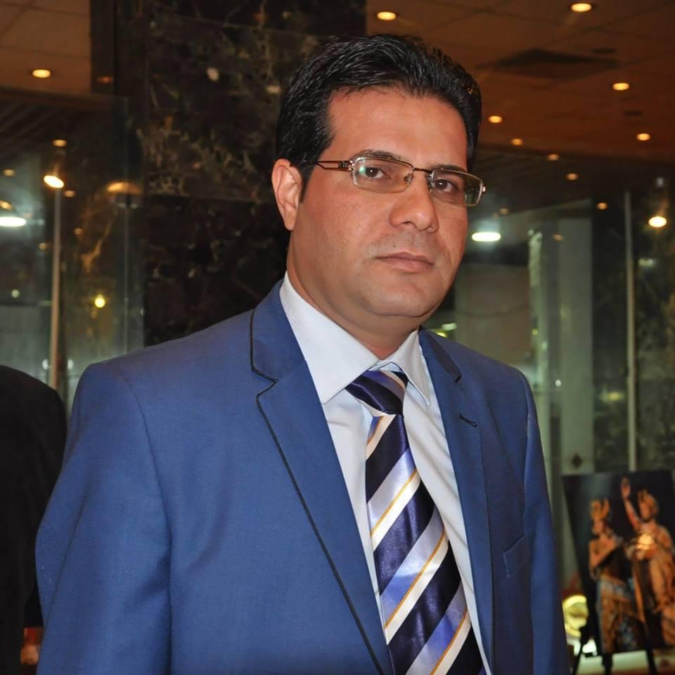 الصحفي عبد الرضا الساعدي