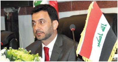 وزير الرياضة والشباب عبد الحسين عبطان
