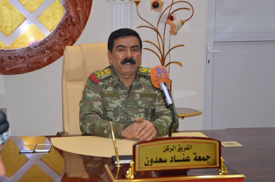عمليات صلاح الدين : لا صحة لوجود نية لتواجد القوات الامريكية في المحافظة