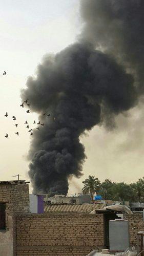 خمسة مدنيين استشهدوا وأصيب 39 اخرون اثر تفجير انتحاري جنوب شرقي بغداد
